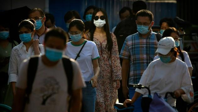 In Peking konnte das Virus inzwischen wieder eingedämmt werden.