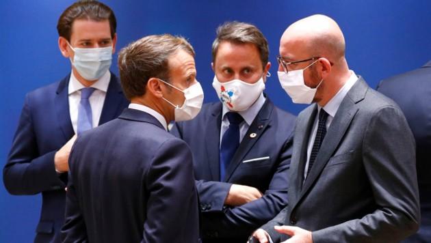 (Bild: APA/AFP/POOL/FRANCOIS LENOIR)