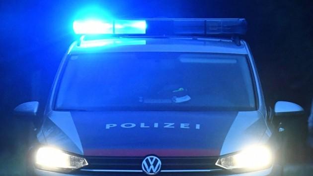 Der Mann provozierte eine zufällig vorbeikommende Polizeistreife. (Bild: P. Huber)