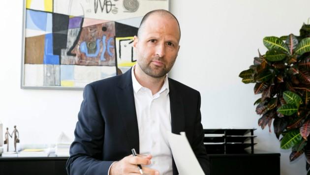 Marco Tittler ist seit Ende 2019 Mitglied der Vorarlberger Landesregierung. (Bild: Mathis Fotografie)