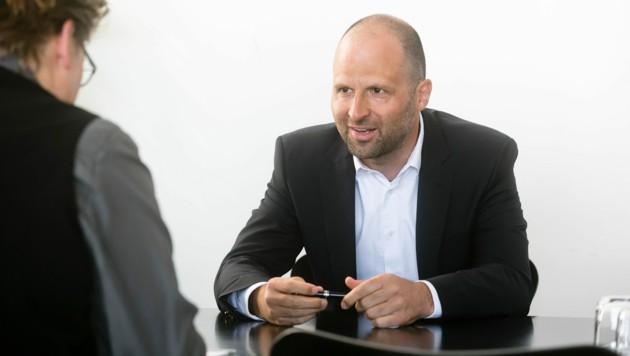 Marco Tittler ist in große Fußstapfen getreten - sein Vorgänger Karlheinz Rüdisser war hochgeschätzt.