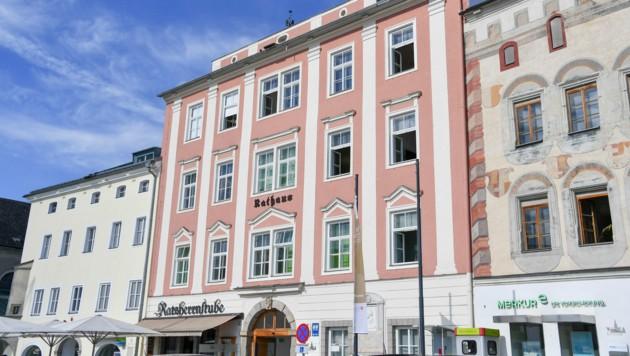 Das Rathaus am Hauptplatz in Freistadt (Bild: Harald Dostal)