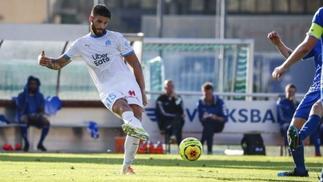 Duje Caleta-Car absolvierte mit Marseille einen Test gegen den FC Pinzgau. (Bild: GEPA pictures/ Jasmin Walter)