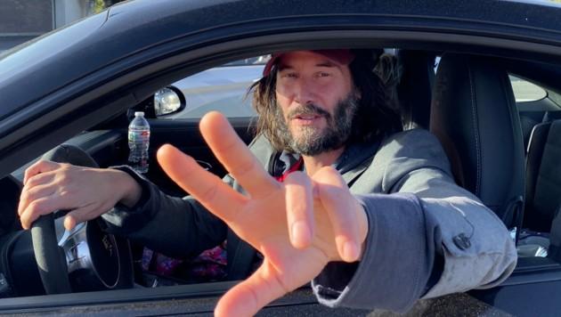Keanu Reeves im Juni 2020 in Malibu