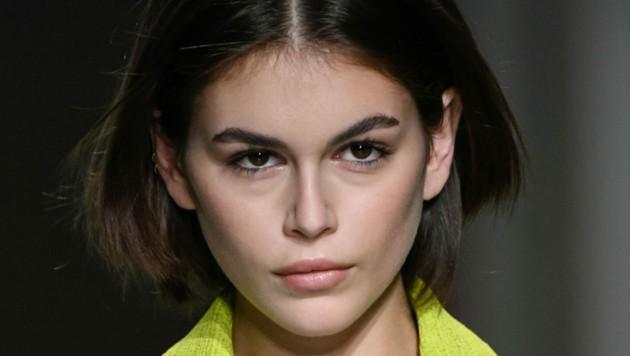 Kaia Gerber bei der Mailänder Modewoche