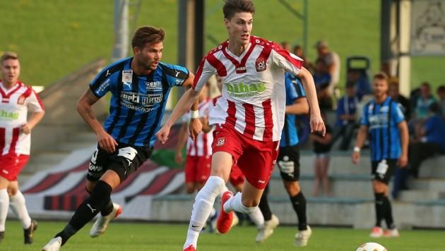 Fabian Neumayr (r.) trainiert momentan in Graz.