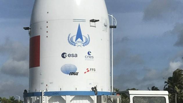 Das Logo der österreichischen Forschungsförderungsgesellschaft FFG ist gut erkennbar.