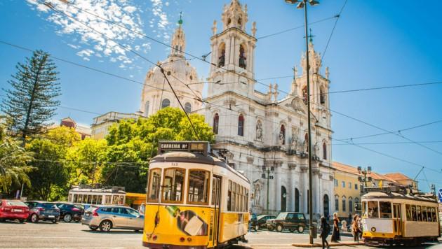 Die Schönheit der Hauptstadt Lissabon hätte eine Wienerin gerne erlebt (Symbolbild). (Bild: ©Filip - stock.adobe.com)