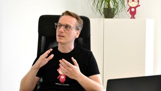 """Andreas Hermann ist CEO und Co-Founder von """"business beat"""". (Bild: business beat)"""