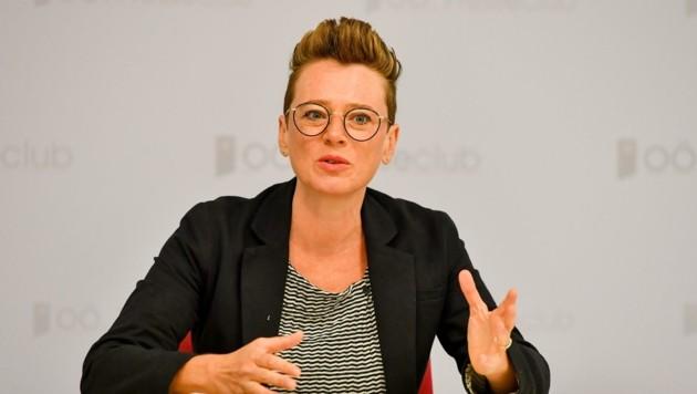 Eva Schobesberger, Grünen-Umweltstadträtin
