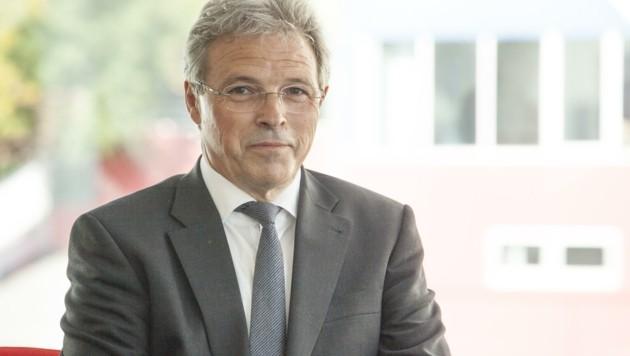 Firmenchef Helmut Thöni ist zuversichtlich