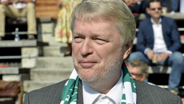 Rapid-Schalträger Dietmar Hoscher