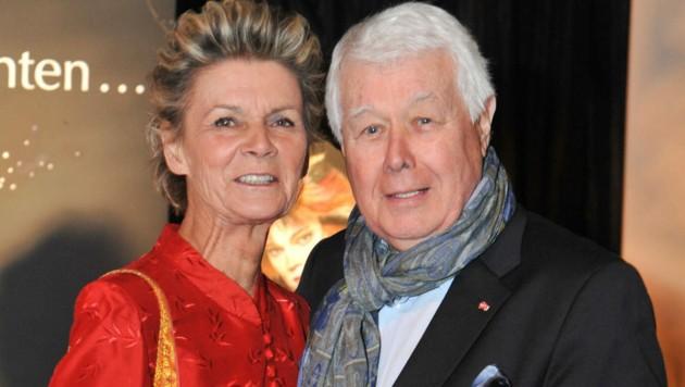 """Lebensliebe: 45 Jahre war Peter Weck verheiratet mit """"Mausi"""". Sie starb vor 8 Jahren plötzlich."""