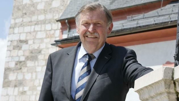 Großgmainer Bürgermeister Sebastian Schönbuchner (Bild: Tschepp Markus)