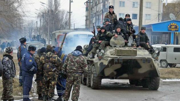 """Russische Soldaten gerieten immer wieder ins Visier der islamistischen Terrorgruppe """"Emirat Kaukasus"""". (Bild: AFP)"""