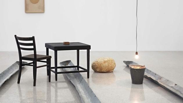 """""""Nasse Wäsche"""" von Joseph Breuys brachte Ropac zur Kunst. (Bild: © mumok - Museum moderner Kunst Stiftung Ludwig Wien, Leihgabe der Österreichischen Ludwig-Stiftung)"""