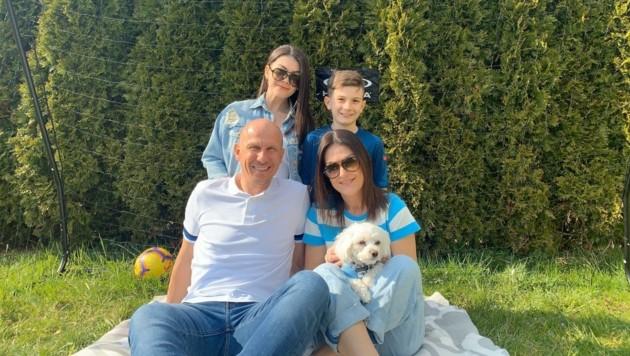 Für Gerhard Struber zählt in den nächsten Wochen nur seine Familie. (Bild: Gerhard Struber)