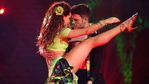"""Luca Hänni und Christina Luft beim """"Let's Dance""""-Finale"""