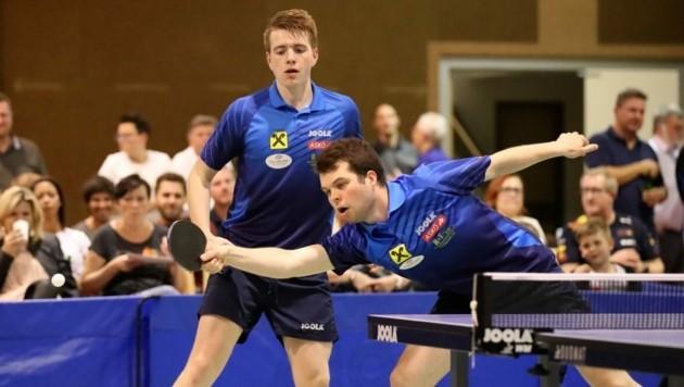 Doch Europapokal: Die Kuchler Thomas Ziller (li.) und Mate Moricz. (Bild: Andreas Tröster)