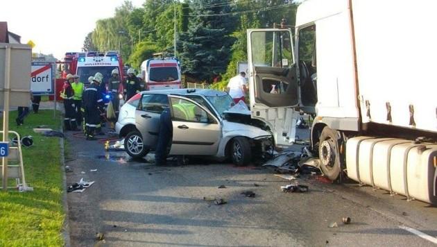 Speziell bei Unfällen mit mehreren Fahrzeugtypen soll die neue Datenbank vieles erleichtern (Bild: FF)