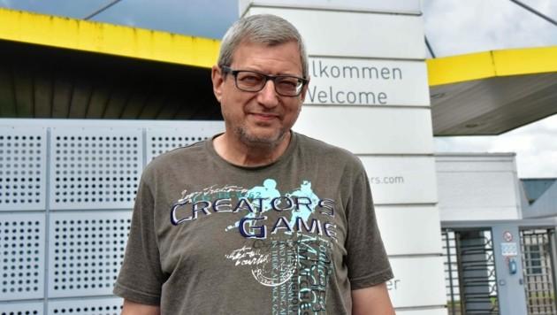 Herbert Mostögl erfuhr am Weg zur Nachmittagsschicht von der Hiobsbotschaft.