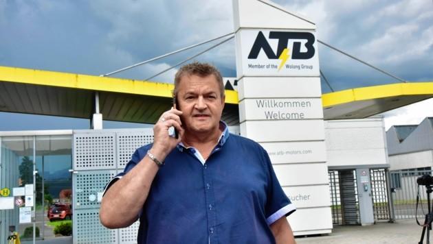 Betriebsrat Michael Leitner