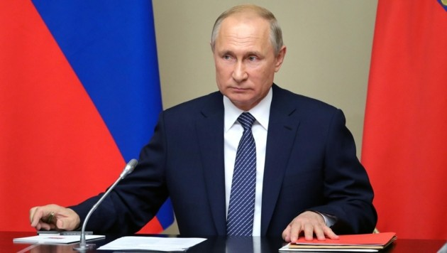 Russlands Präsident Wladimir Putin (Bild: APA/AFP/Sputnik/Mikhail Klimentyev)
