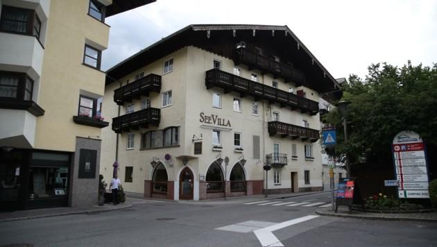 Auch das Hotel Seevilla in St. Wolfgang ist betroffen. (Bild: Tröster Andreas)