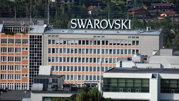 Der Swarovski-Standort in Wattens (Bild: Christof Birbaumer)