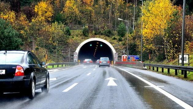 Der Falkenbergtunnel (Bild: Asfinag)
