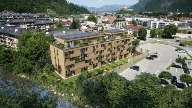 """Das """"Naturquartier"""" in Kufstein. (Bild: ofp)"""