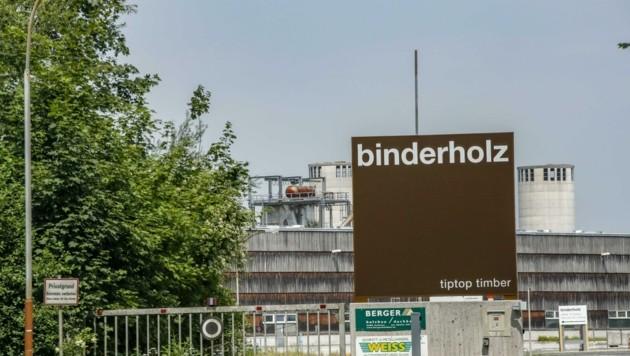 Binderholz will im Halleiner Industriegebiet kräftig investieren. Gegen die Pläne gibt es weiter heftige Widerstände. (Bild: Tschepp Markus)