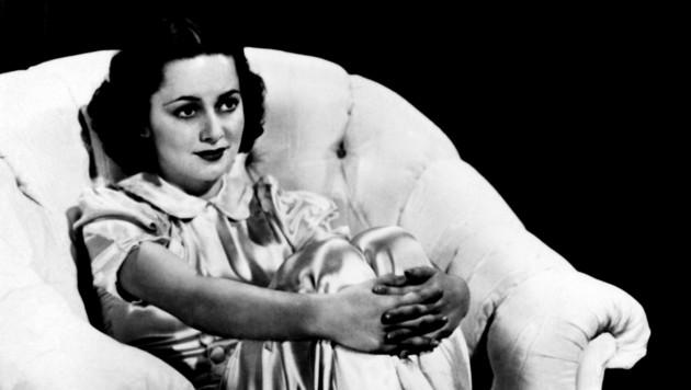 Eine Aufnahme von Olivia de Havilland aus dem Jahr 1938