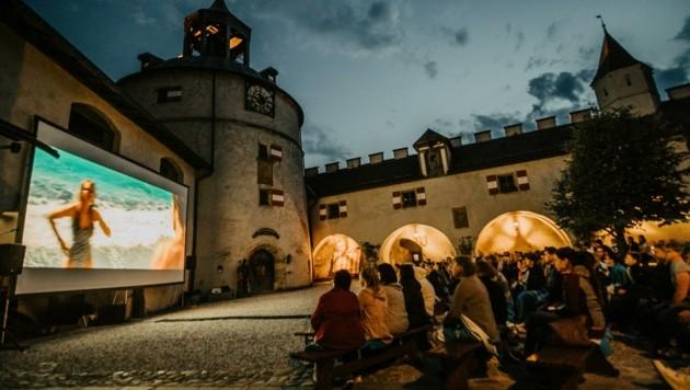 . . . und im Innenhof der Burg Hohenwerfen. (Bild: Salzburger Burgen & Schlösser)