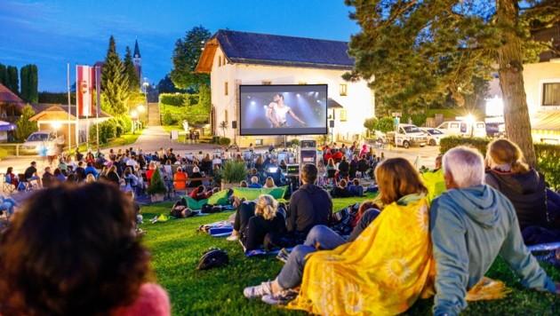 """Knapp 200 Besucher genossen """"Bohemian Rapsody"""" am Wochenende in Oberndorf (Bild: BernhardRieger)"""