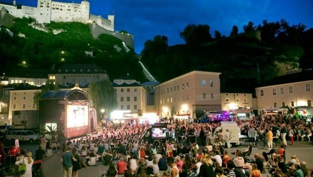 Kino am Kapitelplatz – eine Herausforderung in Zeiten wie diesen. (Bild: Wild + Team Fotoagentur GmbH)