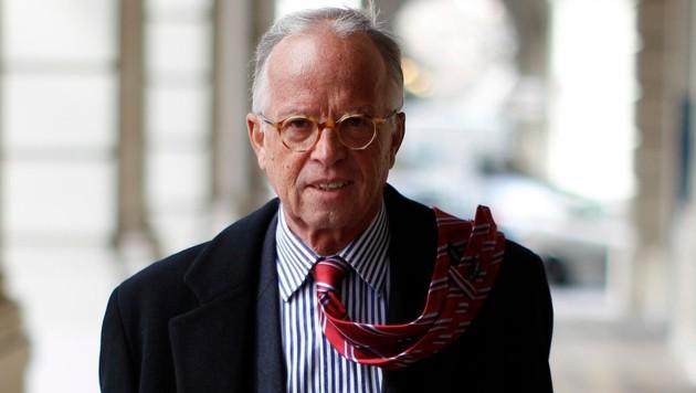 Der ehemalige ÖVP-Verteidigungsminister Werner Fasslabend