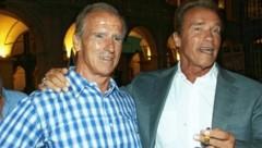 Arnold Schwarzenegger und Karl Kainrath verband eine jahrzehntelange Freundschaft. (Bild: Christian Jauschowetz)