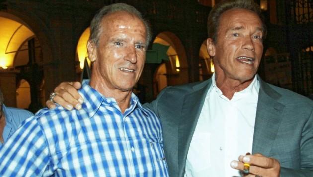 Arnold Schwarzenegger und Karl Kainrath verband eine jahrzehntelange Freundschaft.