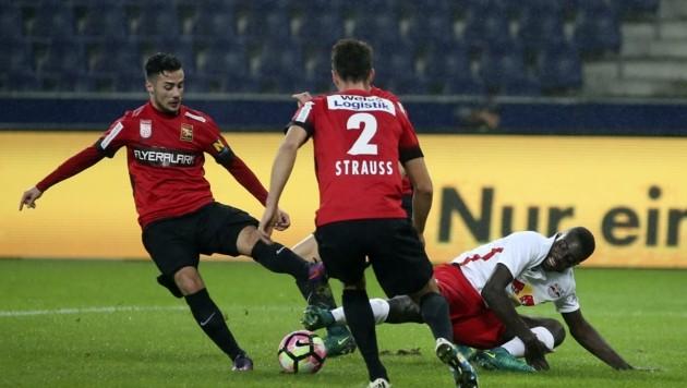 Auch einige Salzburger Kicker, wie der Ex-Admiraner Fabio Strauss, sind derzeit vertragslos und auf Vereinssuche.