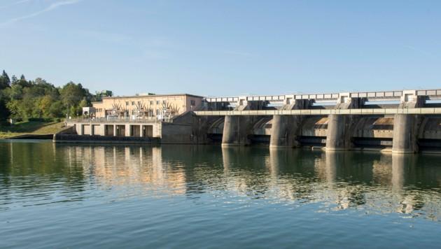 Im Herbst beginnen die Arbeiten für den Fischaufstieg beim Kraftwerk Staning (Bild: Russkäfer)
