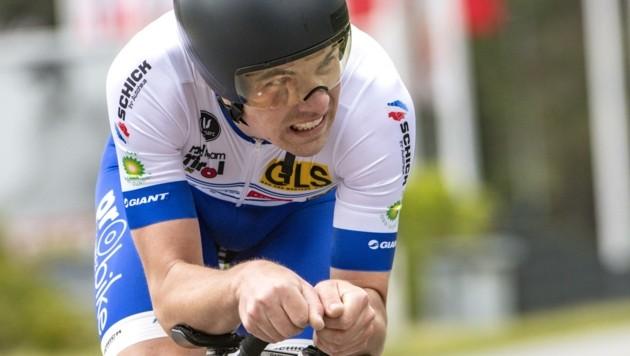Johannes Hirschbichler hält im Heimrennen Salzburgs Farben hoch (Bild: Reinhard Eisenbauer/Radteam Tirol)