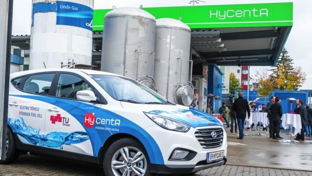 In Kärnten soll die erste H2-Tankstelle öffnen und vor allem Busse mit Treibstoff versorgen.
