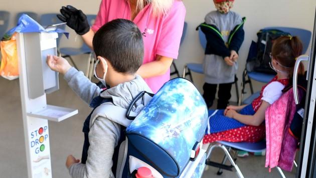 Hygienemaßnahmen in den Schulen