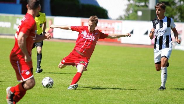 David Oberortner ist ebenso neu in Imst wie Coach Herbert Ramsbacher. (Bild: Andreas Tröster)
