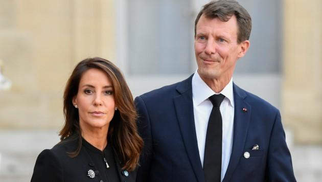 Prinz Joachim und Prinzessin Marie von Dänemark (Bild: AFP)