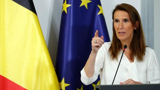 Belgiens Premierministerin Sophie Wilmes