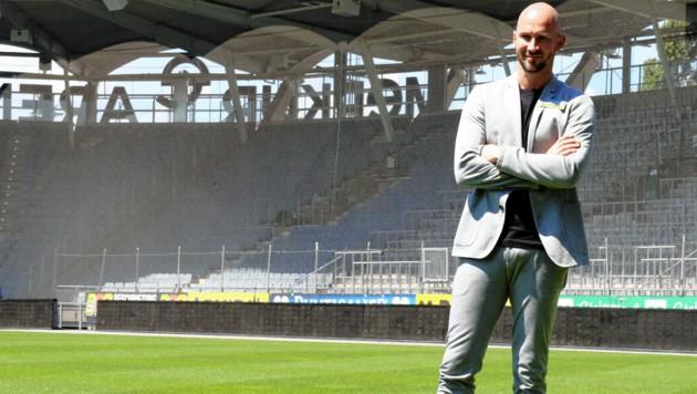 Christian Ilzer ist für das erste Liga-Heimspiel bereit. (Bild: Christian Jauschowetz)