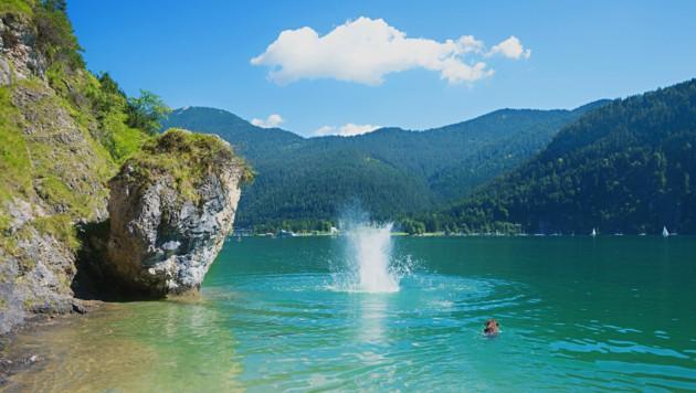 Sommerspaß am Achensee (Bild: ©SusaZoom - stock.adobe.com)