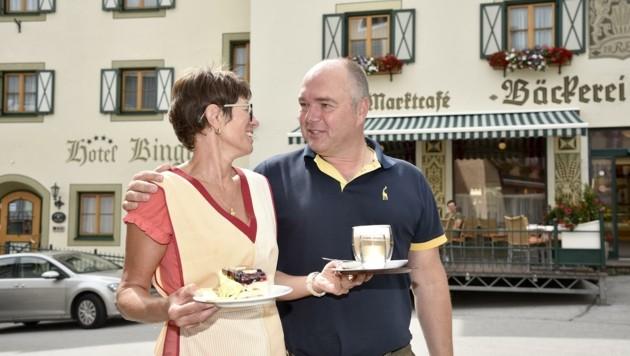 Die Lungauer Hoteliers Anja und Richard Binggl profitieren (Bild: Holitzky Roland)